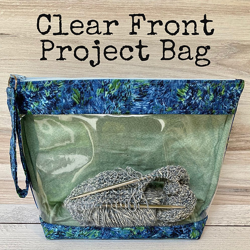 Clear Front Project Bag Independent Study Class