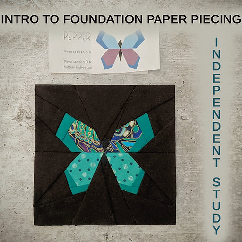 Intro to Foundation Paper Piecing Independent Study