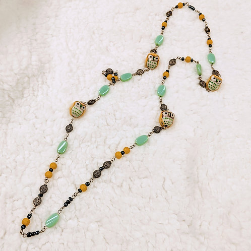 Fancy Link Necklace 05