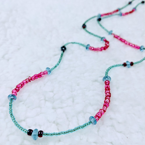 Layering Strung Necklace 01