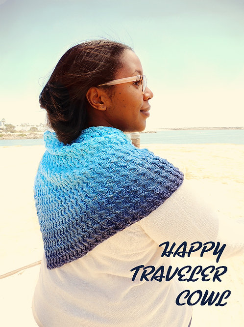 Happy Traveler Cowl Pdf Pattern