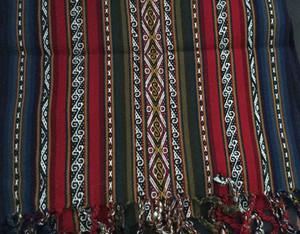 Tejido en telar de cintura - Cusco
