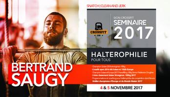 ///// Séminaire d'haltérophilie pour tous - SOLD OUT !