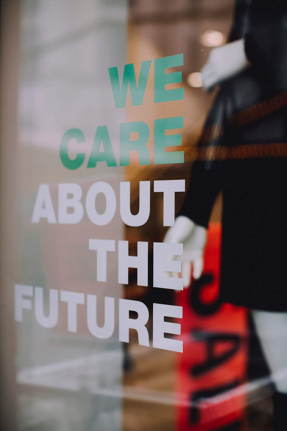 sustainable brand, we care about the future