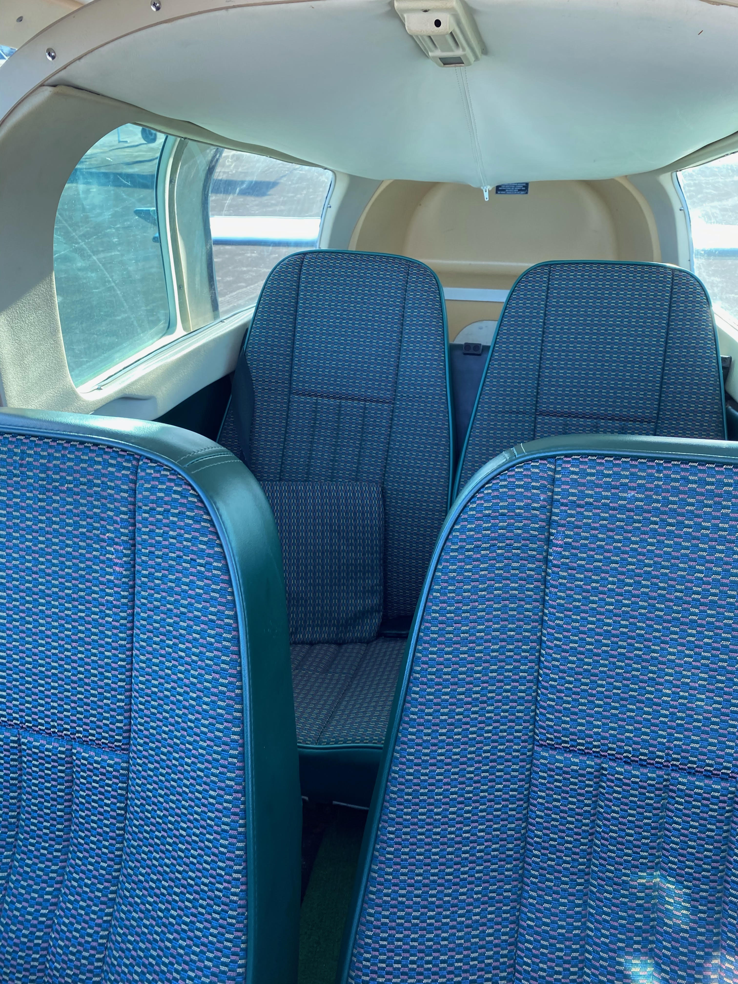 N33JX Seats