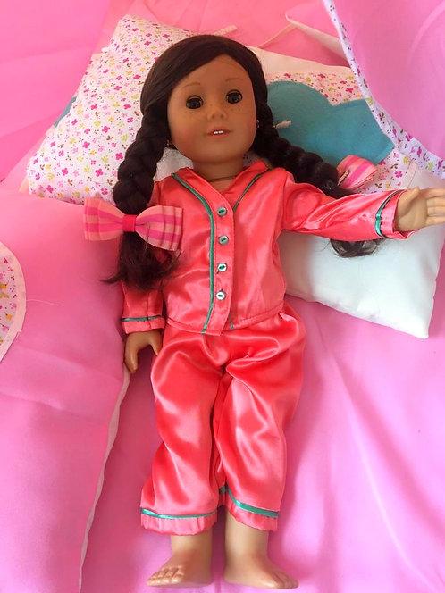 Pijama Rosa para Muñecas