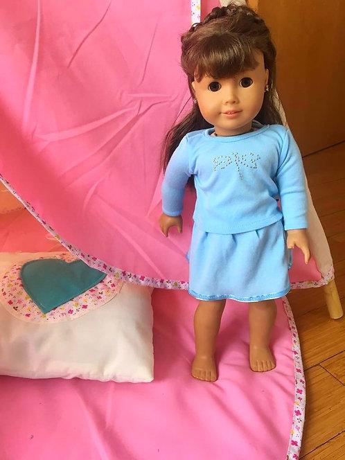 Conjunto Azul para Muñecas