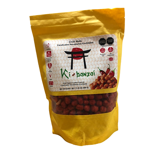 Cacahuates Chilli Nuts Ki Bonzai