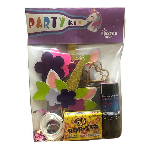 "Party Kit ""Unicornio"", FIESTAR BOOM"