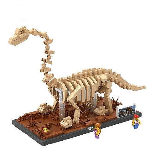 Block Branquiosaurio Fosil
