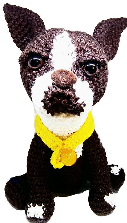 Perrito Bostón Terrier Genérico