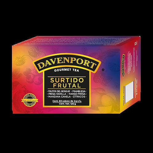 Davenport surtido frutal con 60 sobres