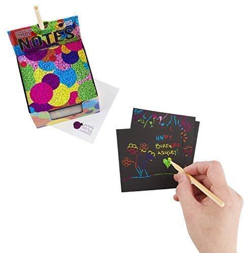 Rainbow Scratch Paper