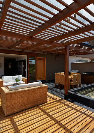 Patio Cover and Wood Deck