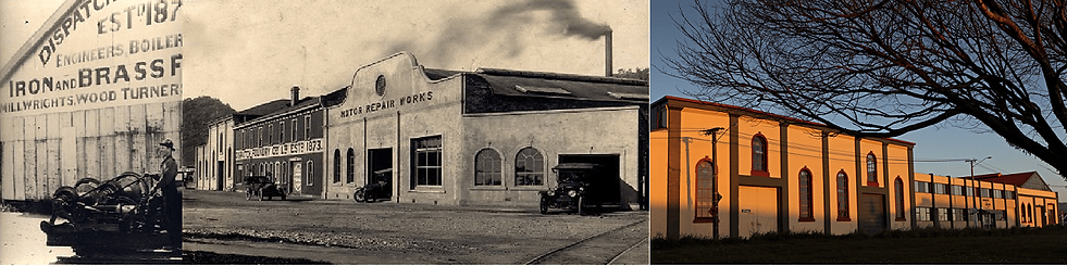 Dispatch & Garlick then and now