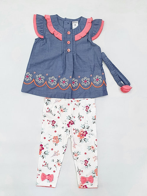 Infants/Toddler Girls T.Shirt and Trouser set