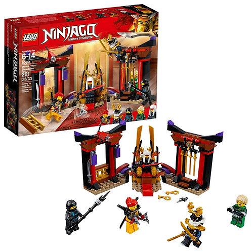 Lego Ninjago Throneroom Showdown