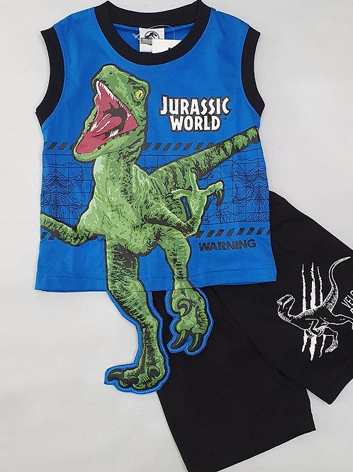 Boys Dinosaurs sleeveless set