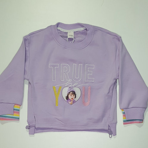 Girls Thick Full T.Shirt (With Inner Fur)