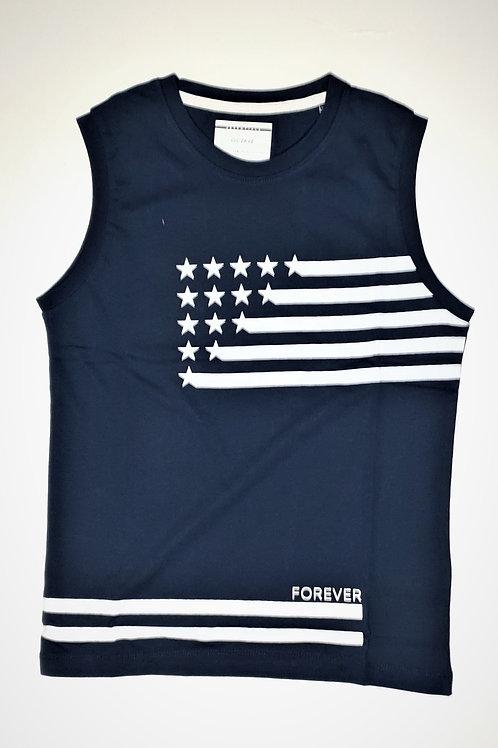 Boys Octave Brand Sleeveless T.Shirt