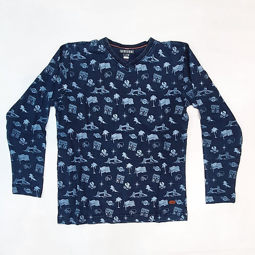 Boys Crimsoune Club Brand Full T.Shirt