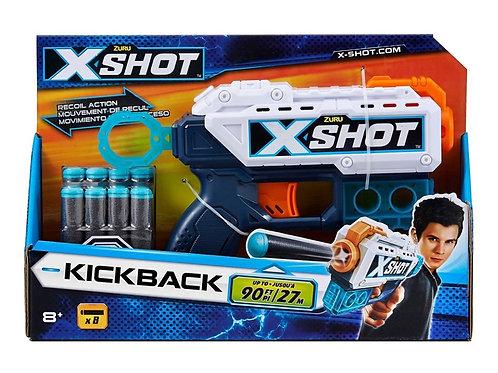 X-Shot Excel Kickback Open Box
