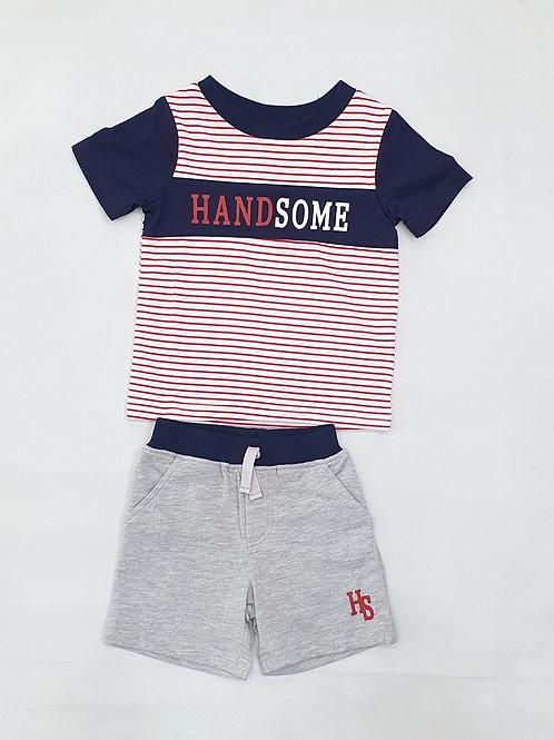 Toddler Boys T. Shirt H. Pants set