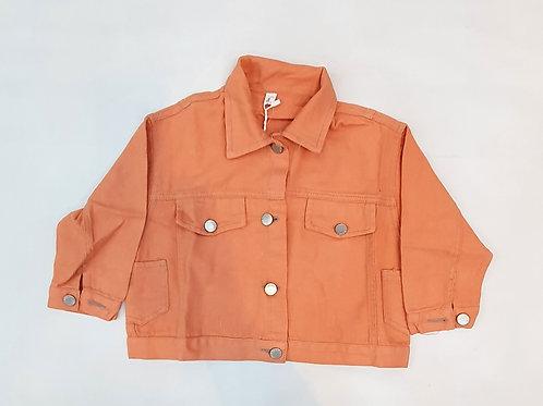 Girls Coloured Denim Jacket