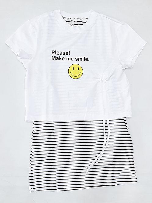 Girls T.Shirt Skirt Set