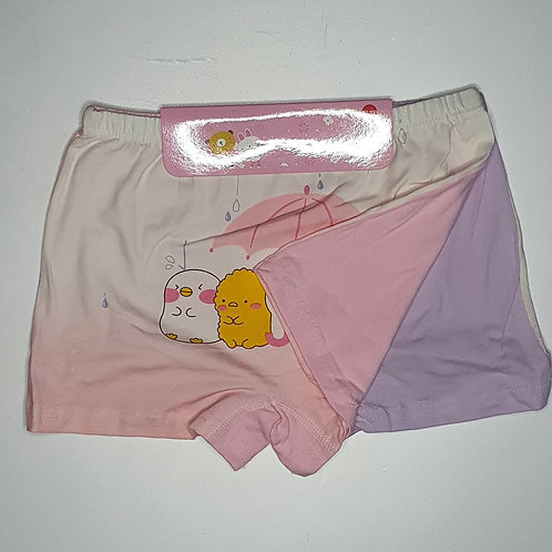 Girls Cotton Underwear (2 Piece Set)