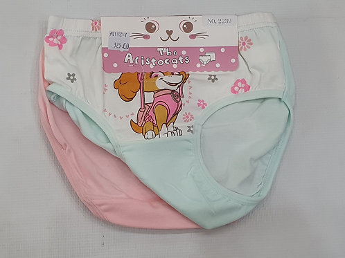 Girls 2pc panty pack