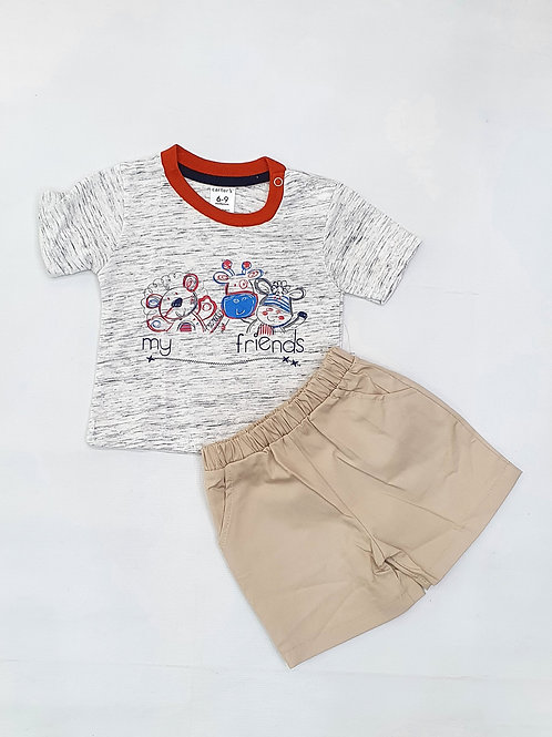 Infants/ Toddlers Boys T.Shirt and H. pant set