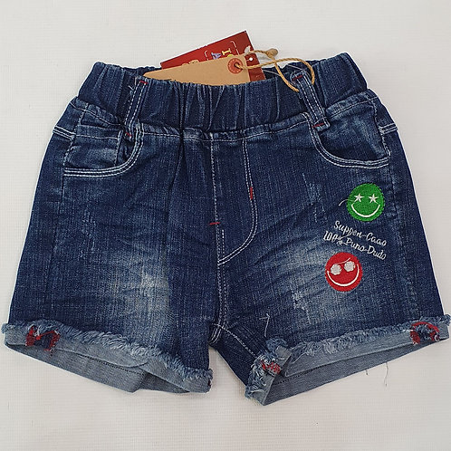 Girls Half Pants Denim