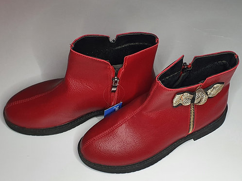 Girls Boots With Inner Fur (Zipper on one side)