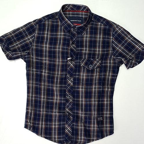 Boys Crimsoune Club Brand Half Shirt