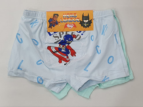 Boys 2pc Underwear Pack