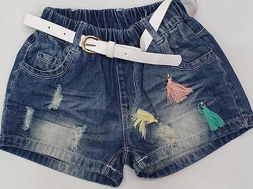 Girls Half pants Denim