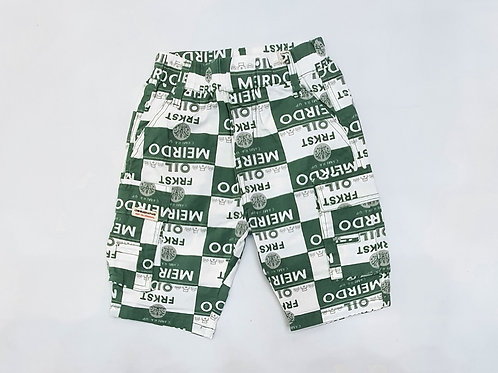Boys Cargo Half Pants