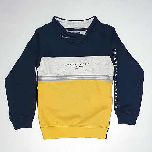 Boys Octave Brand Full Thick T.Shirt  (With Inner Fur)