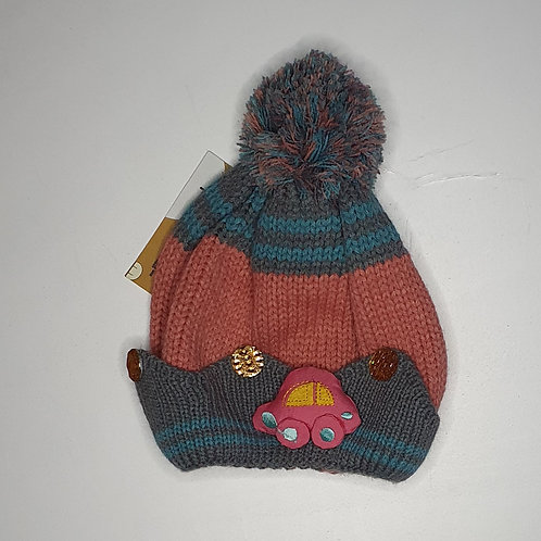 Woolen Cap With Inner Lining (Age 1-5 Years)