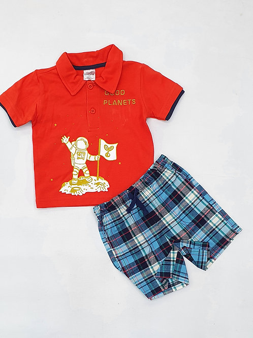 Infant/Toddlers Boys T.Shirt and H.Pant set
