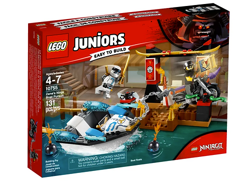 Lego Zanes Ninja Boat Pursuit