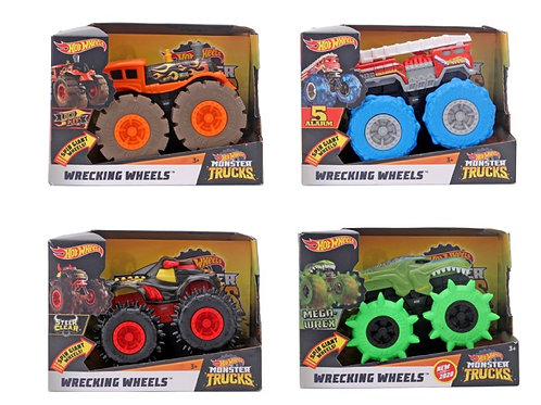 Hotwheels  Mt 1:43 Wrecking Wheels (per pc)