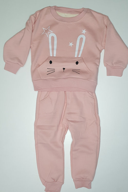 Girls Thick Two Piece Set (With Inner Fur)