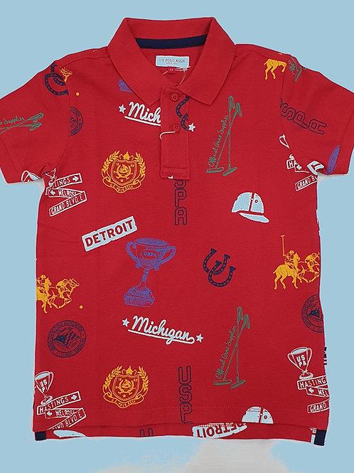 US Polo Boys T.Shirt