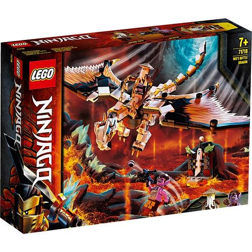 LEGO NINJAGO Wu's Battle Dragon