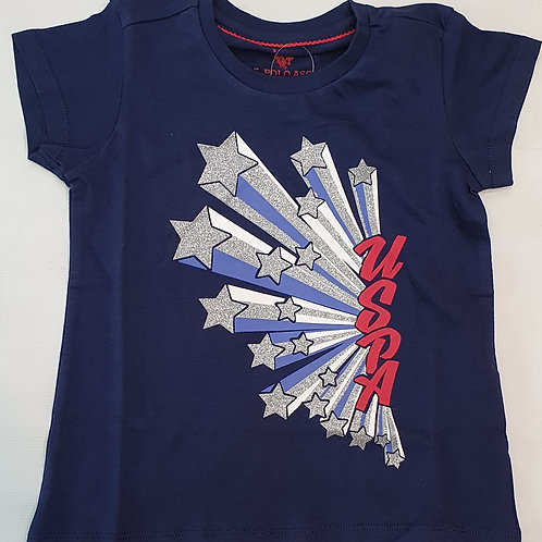 U.S Polo Assn. Girls Tshirt