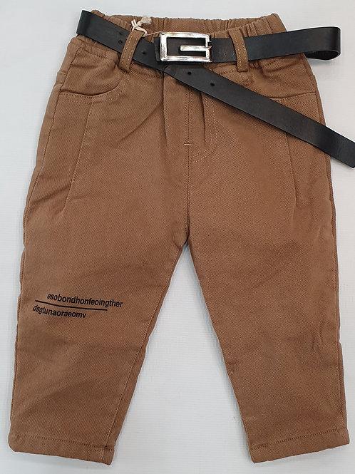Boys pants with inner fleece