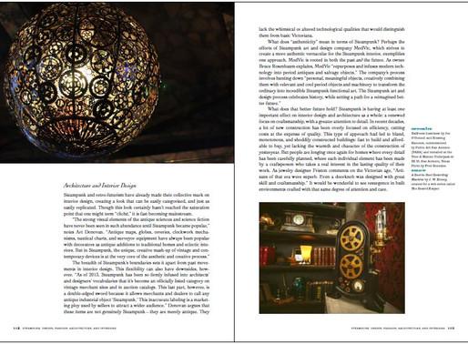 The Steampunk User's Manual features Ballroom Luminoso!