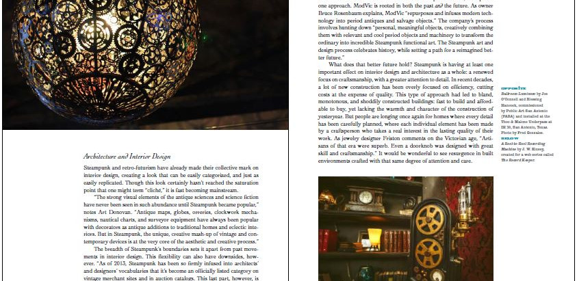 The Steampunk User's Manual features Ballroom Luminoso!